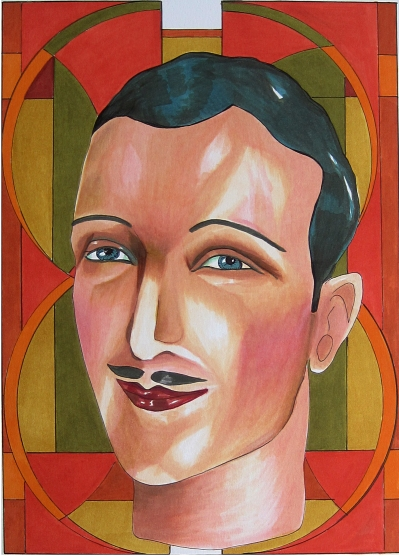Art Deco Man